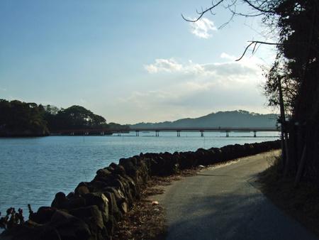 松島 福浦島への橋