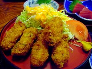広浦の牡蠣フライ