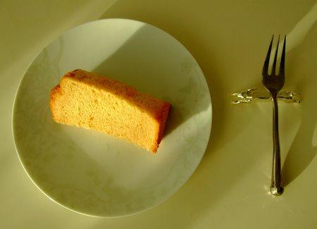 大江ノ郷のふんわりメープルシフォンケーキ