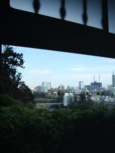 仙台の料亭 東洋館からの眺め