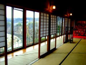仙台の料亭 東洋館から広瀬川を臨む