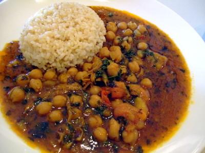 パチャカリのひよこ豆カレー