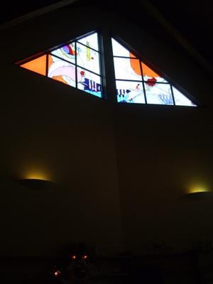 パリンカのステンドグラス