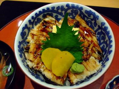 大黒寿司の穴子丼