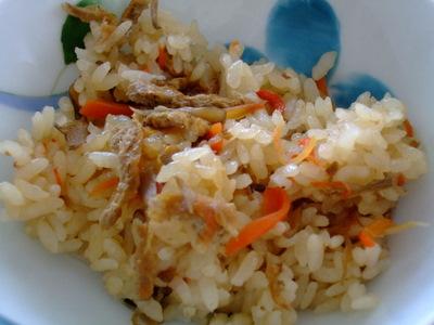スパッシュランド白石のマイタケご飯