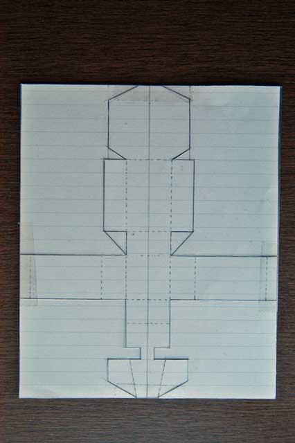 展開図の型紙