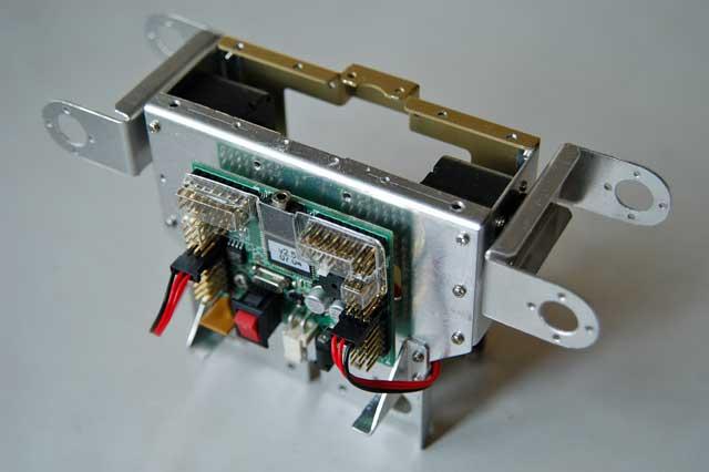 試作ボディーにRS306MDを取り付ける