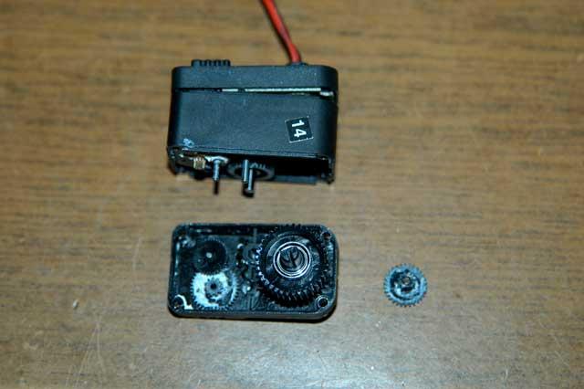RS306MDのギア欠け