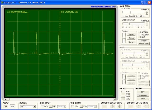 サーボ用出力波形1