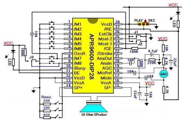 APR9600評価回路