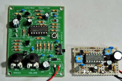 試作した基板とMK134基板の比較