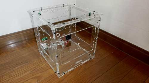 3Dプリンタの筐体