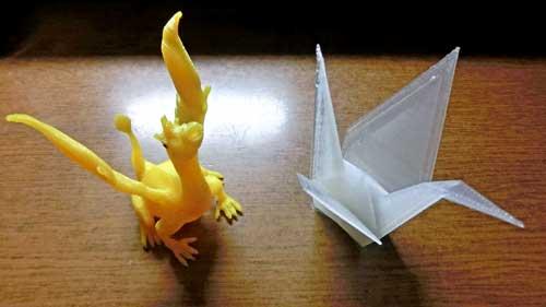 折鶴とドラゴン