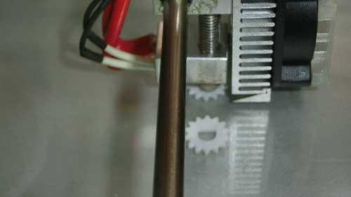 3Dプリンタでギア製作