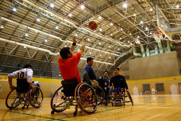 伊藤真吾 車椅子バスケットボール