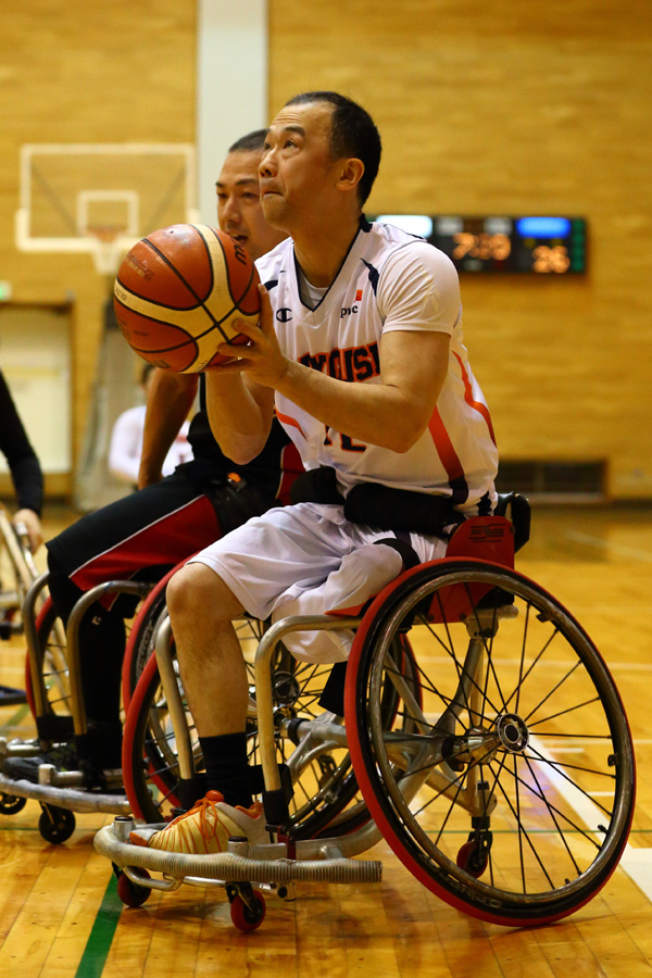 車椅子バスケットボール 伊藤真吾
