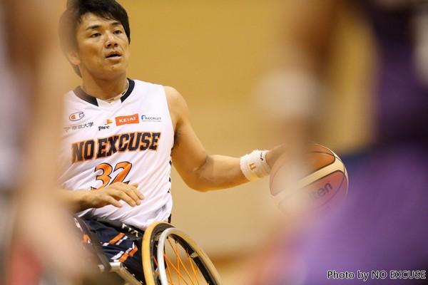 車いすバスケットボール 伊藤真吾
