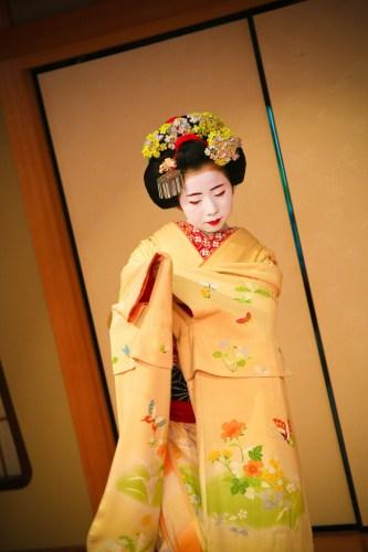 舞妓さんの写真