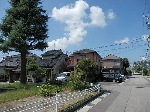 富山市 花園町の街並