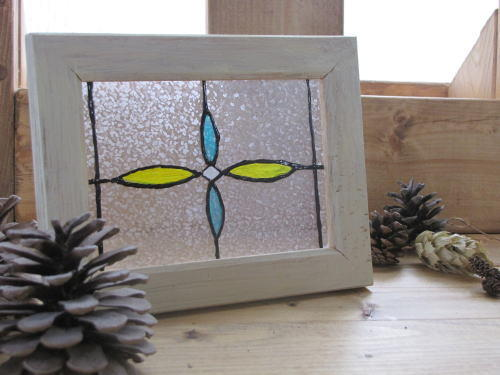 ガラス絵の具フレーム