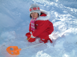 雪あそび9