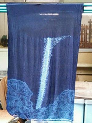 2015藍染め滝