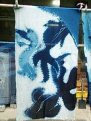 2015藍染め金魚