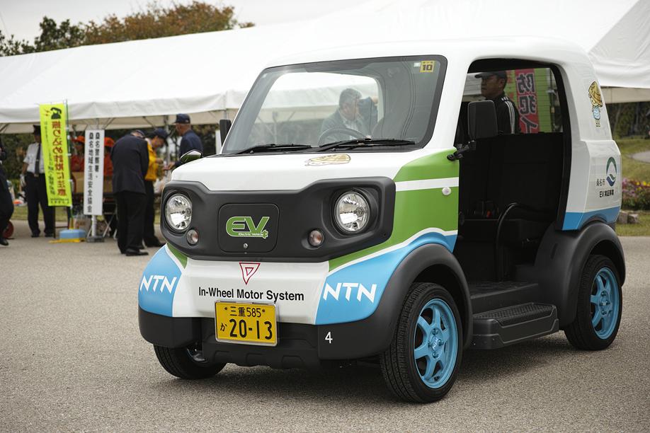 桑名市公用車超小型モビリティ