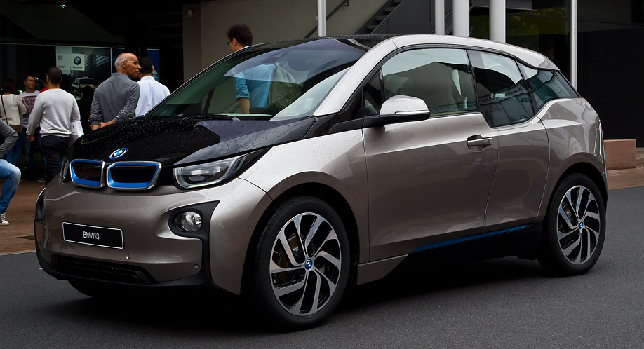 BMW i3のCFRP(炭素繊維強化プラ...