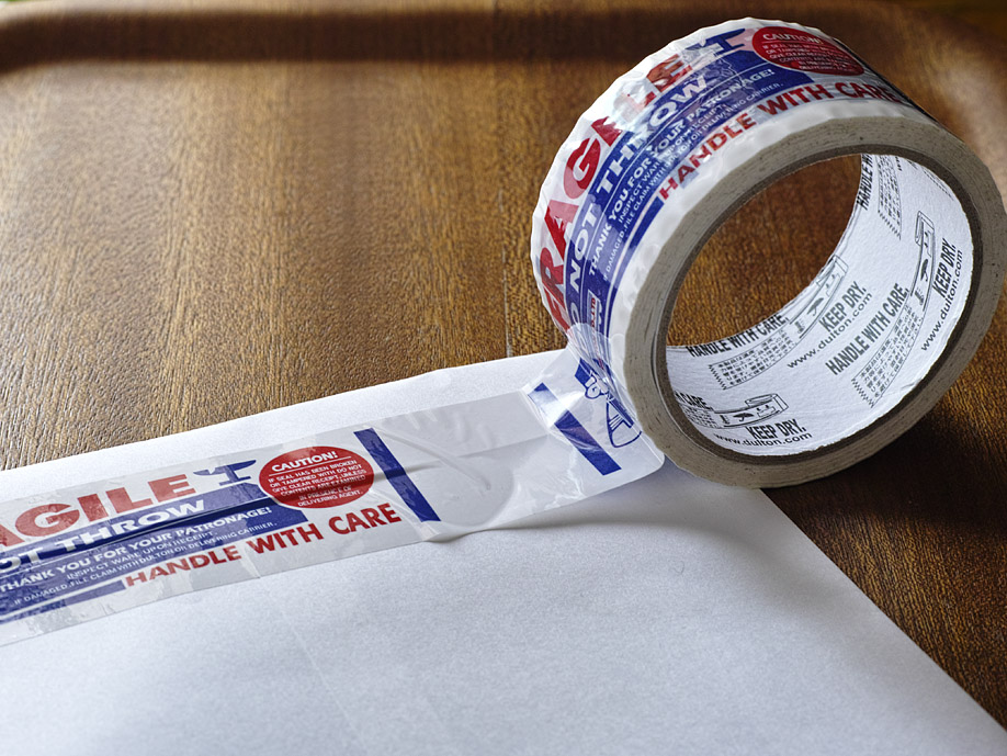 パッキングテープ(梱包用テープ)のデザイン・製作
