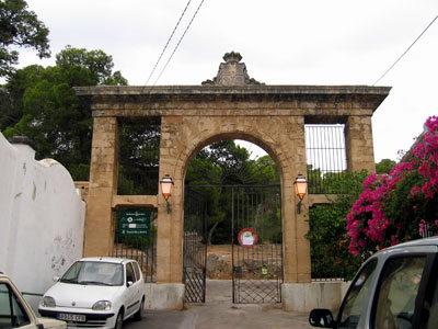 ベルベル城入口