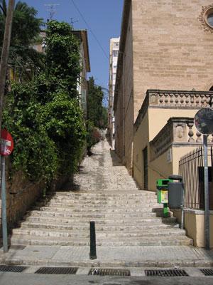 近所の階段その1