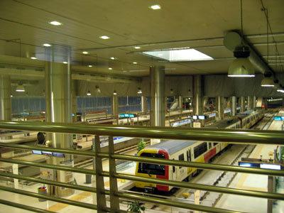パルマのメトロの駅