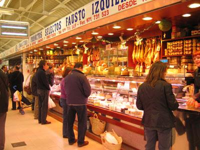 サンタカタリナ市場の肉屋さん