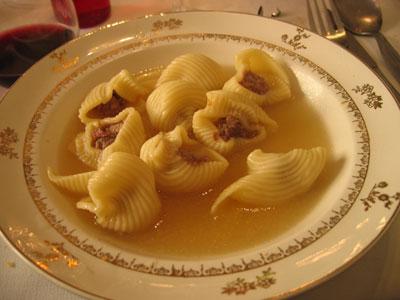 クリスマス恒例のスープ