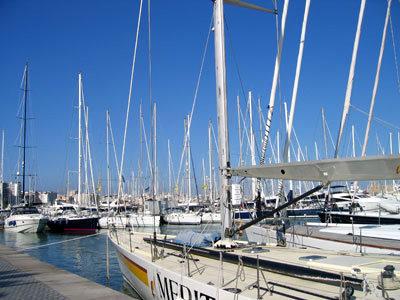 パセオマリティモのボート達