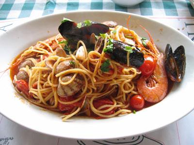 海の幸スパゲッティ