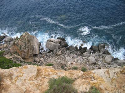 断崖絶壁�