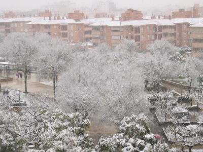 マヨルカの雪