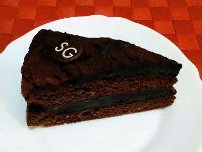 SANTA GLORIAのチョコレートケーキ