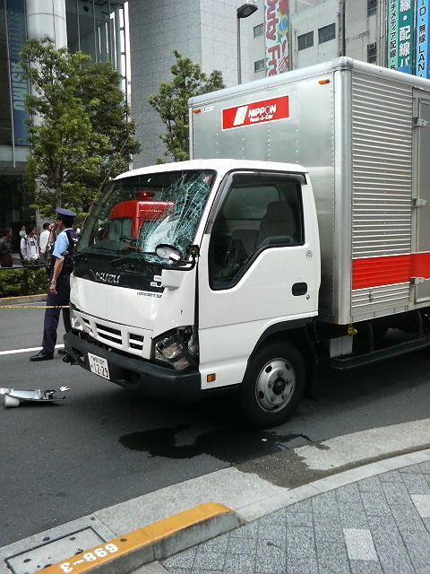 犯人が使用した車両