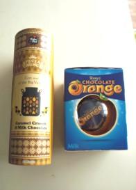 チョコ二種