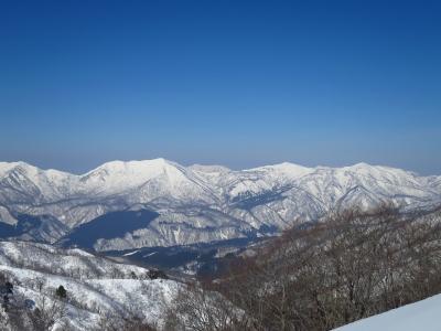 大日ヶ岳&野伏ヶ岳&大長山三つまとめてみました