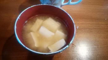 親父が作る味噌汁