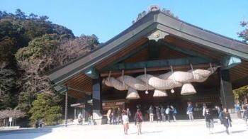 出雲神社へ