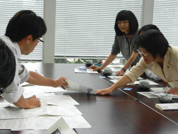 朝霞県土事務所での交渉