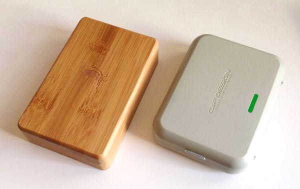 C&Fと竹ボックスの対比