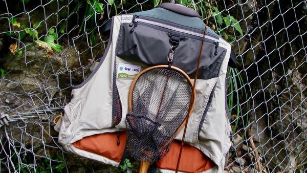 天川管理釣り場とベスト