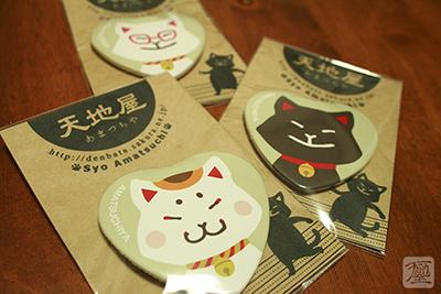 猫雑貨_缶バッジ