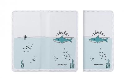 鮫スマホカバー